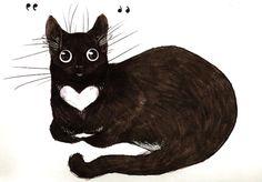 ☀ / #cat #drawing #art
