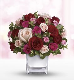 Teleflora's Love Medley Bouquet - Send love with flowers this Valentine's Day