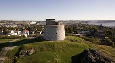 Carleton Mortello Tower -National Historic Site, Saint John, New Brunswick, Canada