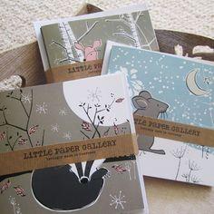6 Woodland Cards £9.00