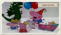 Display de Mesa - Peppa Pig e George Pig