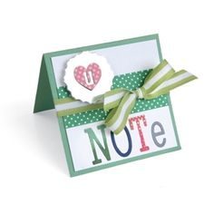 Love U Note Card Send your love with this heart-embellished card. The Me & You collection supplies the perfect shapes to layer for a truly beautiful look.