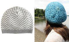 Knit your own J.Crew chevron beanie — free pattern