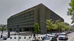 Hubert H. Humphrey Building - US Department of Health and Human Services - 1972-77 by Marcel Breuer - #architecture #googlestreetview #googlemaps #googlestreet #usa #washington #brutalism #modernism