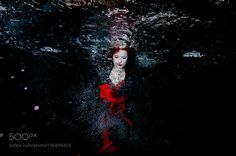 Red Fashion in Black by pkleiner #nature #photooftheday #amazing #picoftheday #sea #underwater