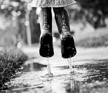 i love rain boots. Walking In The Rain, Singing In The Rain, Full Contact, I Love Rain, Rain Go Away, Rain Storm, Reflection Photography, Going To Rain, Black White