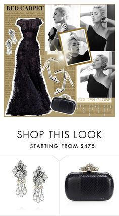 """""""Golden Globes:Kate Winslet"""" by beograd-love ❤ liked on Polyvore featuring Elie Saab, Erickson Beamon, Alexander McQueen and Yves Saint Laurent"""