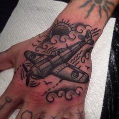Fun little spitfire #matthouston #gastown #spitfire #tattoo...
