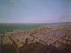 Puerto De Veracruz Mexico   Aquí hay otra litografía del Puerto de Veracruz hecha por Casimiro ...