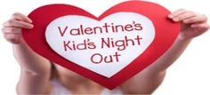 Valentine's Kid's Night Out at Pender. Drop off your kid's ages 3-12 years for a fun night of Valentine's Day themed crafts, children's activities, dinner and a movie at Pender while you go on a date with your special someone for Valentine's Day or just take time off to unwind & relax.