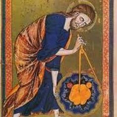 Gothic Illuminated Manuscripts, Psalters, ca. Religion was the core of Western society during the Gothic Period. Moncs spend a lot of time decorating manuscripts that were copied by hand, in order to celebrate religion. Luca Pacioli, Masonic Art, Masonic Symbols, Renaissance, Art Français, Geometric Symbols, Religion, His Dark Materials, William Blake