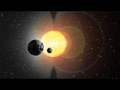 What Is A Solar Eclipse? Video shows total eclipse.
