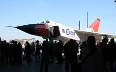 A replica of the famous Avro Arrow is rolled out at the Canadian Air and Space Museum in 2008. 55 years after its first flight, the Avro Arrow still stirs feelings of pride, and regret, in many Canadians.