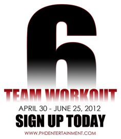 Get it right and tight for summer! #TeamWorkOut6 #TWO6