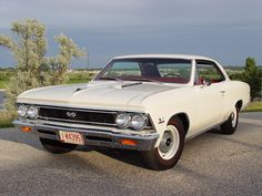 1966 Chevrolet Chevelle coupe SS / Super Sport 396 cid big block