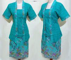 29 Model Baju Batik Setelan Wanita Kombinasi Terpopuler 2017