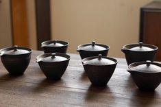 Pottery & China Art Pottery Realistic Vintage Jane Wherette Studio Art Pottery Face Teapot & Creamer