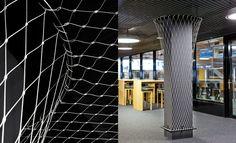 IIfis Stadium Switzerland, Jakob Webnet Mesh   Jakob Rope Systems