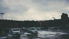 A parking lot in the Bronx #nyc #vsco #winter