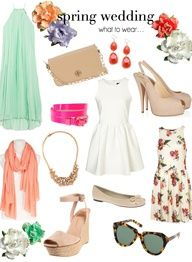 what to wear to a spring wedding #fashion