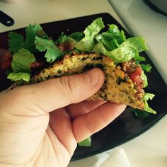Turkey Tacos with Cauliflower Tortillas In honor of Cinco De Mayo tomorrow, I bring you my very own turkey tacos with homemade ca...