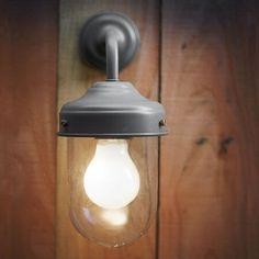 Barn Lamp - Charcoal