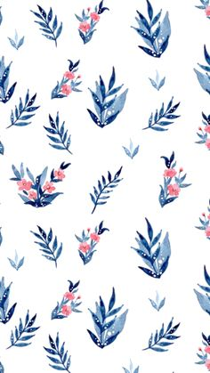 Flowery Wallpaper, Watercolor Wallpaper, Summer Wallpaper, Print Wallpaper, Pattern Wallpaper, Phone Screen Wallpaper, Iphone Wallpaper, Cute Wallpaper Backgrounds, Cute Wallpapers