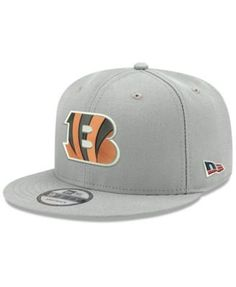 new product 8f0d2 31782 New Era Cincinnati Bengals Crafted in the Usa 9FIFTY Snapback Cap - Gray  Adjustable