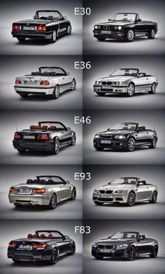 Al generation of the BMW M3 / M4 Cabriolet