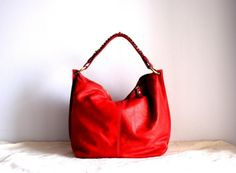 Morelle Slouch Purse in Red  https://www.etsy.com/shop/morelle