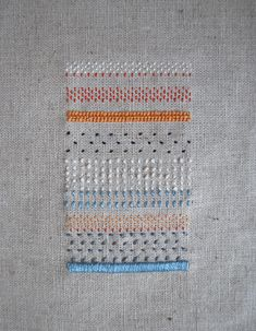 texturas / pattern. hand made embroidery laura morelis