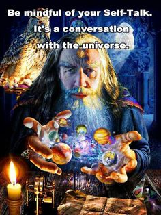 Be mindful of your self-talk. It's a conversation with the universe.  Click---> https://www.LawofAttractionSecrets.ca