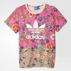 adidas - Camiseta Trefoil Farm