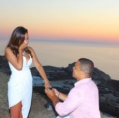 He took her on the most romantic vacation to Greece, and she had no idea he would propose!