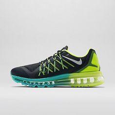timeless design 32481 7a393 Nike Air Max 2015 Homme Chaussures Noir Volt Hyper Jade Blanc
