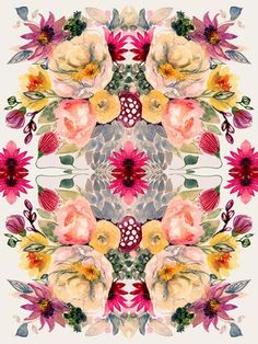 'Detailed Floral I' by Shannon Newlin Painting Print on Canvas