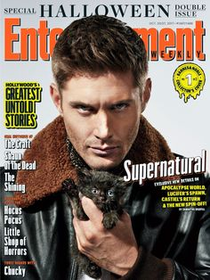 The #Supernatural cast suits up in spooky exclusive photos from Entertainment Weekly