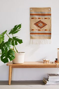 Shop Ryder Woven Tapestry at Urban Outfitters today. Urban Outfitters Tapestry, Home Decor Sale, Boho Look, Tapestry Weaving, Wall Colors, Modern Decor, Ladder Decor, Bedroom Decor, Quartos