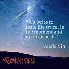 we write... #HasmarkPublishing