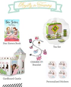 These royal gifts are perfect for your little princes and princesses!