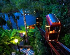 Shadowbrook restaurant in Capitola, Ca  Everyone should go if they are in Capitola Area...So Beautiful