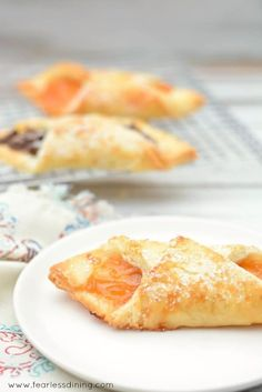 When is the last time you had a flakey gluten free pastry? You are going to LOVE this easy gluten free pastry recipe. Fill with chocolate or jam. Step by step directions to make this for yourself.