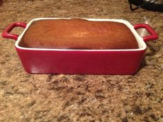 A friend of mine from college has been doing the Paleo diet, and I haven't followed that, but she does have great recipes, this one for Pumpkin Bread