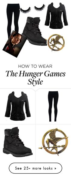 """katness"" by teapartytime7164 on Polyvore featuring NIKE and Timberland"