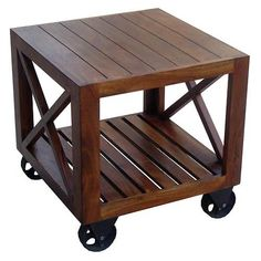 Small Coffee Tables On Wheels Table With