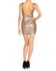 Sequin Scoop Back Dress - 2020AVE