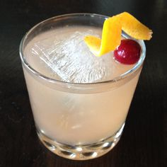 The Zapatero: This mezcal-spiked spin on the classic Old Fashioned cocktail is a south-of-the-border delight.