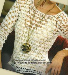 Crochet un très joli pull - La Grenouille Tricote