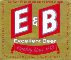 E & B Excellent Beer