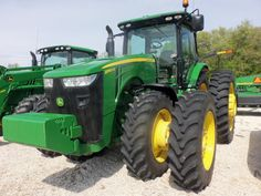 JOhn Deere 8360R.1 of many,many I have seen at John Deere dealers
